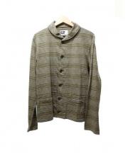 Engineered Garments(エンジニアド ガーメンツ)の古着「ショールカラーカーディガン」|カーキ