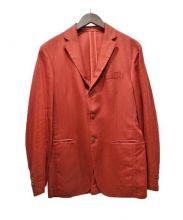 alessandro cantarelli(アレッサンドロ・カンタレリ)の古着「アンコン3Bジャケット」 レッド