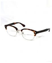 BEAUTY&YOUTH(ビューティー&ユース)の古着「眼鏡」|ブラウン