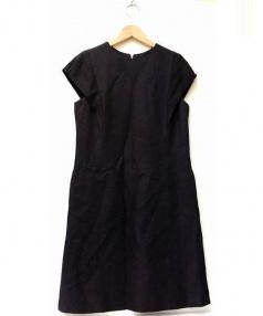 ADORE(アドーア)の古着「フルダルキュプラワンピース」|ブラック