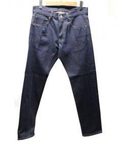 TOKYO ZUBON(トーキョーズボン(トウキョウズボン))の古着「リジットデニムパンツ」 インディゴ
