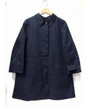 SEALUP(シーラップ)の古着「フライトフロントステンカラーコート」|ネイビー