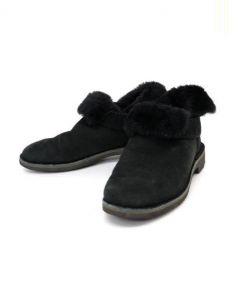 UGG(アグ)の古着「アンクルショートブーツ」|ブラック
