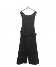 LIMI feu(リミフゥ)の古着「オールインワン」|ブラック