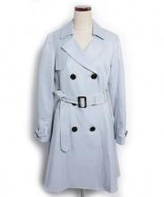 Rirandture(リランドチュール)の古着「 カラートレンチコート」 ライトブルー