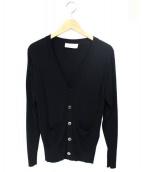 FRANKLIN TAILORED(フランクリンティラード)の古着「Vネックカーディガン」|ブラック
