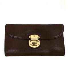 LOUIS VUITTON(ルイ・ヴィトン)の古着「3つ折り財布」|ブラウン