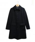 MACKINTOSH PHILOSPHY(マッキントッシュ フィロソフィー)の古着「アンゴラ混コート」|ブラック