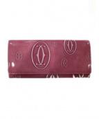 Cartier(カルティエ)の古着「長財布」|ロゼ
