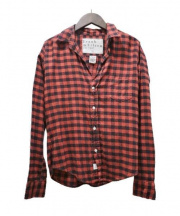 Frank&Eileen(フランクアンドアイリーン)の古着「チェックネルシャツ」|レッド×ブラック