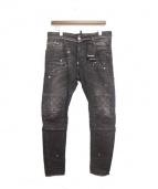 DSQUARED2(ディースクエアード)の古着「TIDY BIKER JEAN/バイカーデニム」|ブラック