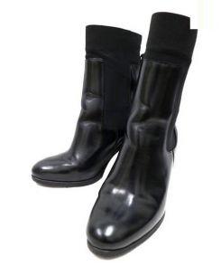 PIERRE HARDY(ピエール アルディ)の古着「サイドゴアミドルブーツ」|ブラック