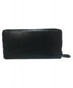 cocomeister(ココマイスター)の古着「ラウンドファスナー長財布」|オールドブラック