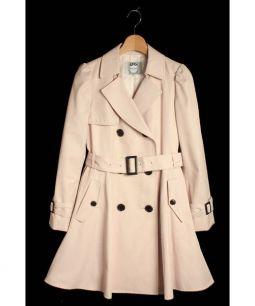 Rirandture(リランドチュール)の古着「ドレストレンチコート」|ピンク