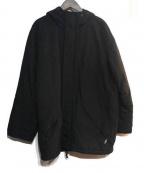 agnes b×EVERLAS(アニエスベー×エバーラスト)の古着「中綿ジャケット」 ブラック