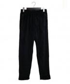 Needles sportswear(ニードルズスポーツウェア)の古着「フリースパンツ」 ブラック