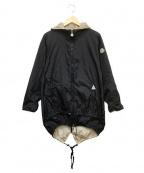 MONCLER(モンクレール)の古着「ナイロンコート」|ブラック