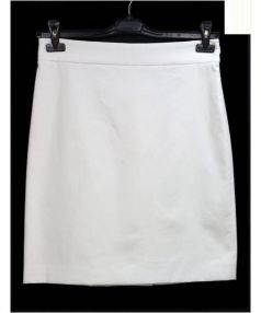 Salvatore Ferragamo(サルヴァトーレ フェラガモ)の古着「コットンスカート」|ホワイト