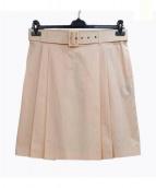 Salvatore Ferragamo(サルヴァトーレ フェラガモ)の古着「プリーツスカート」|ピンク