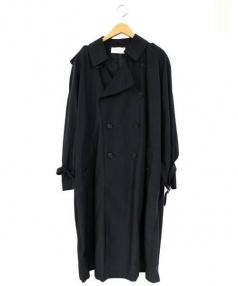 FRANKLIN TAILORED(フラクリン テーラード)の古着「ナイロントレンチコート」|ブラック