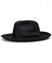 Borsalino18.57(ボルサリーノ18.57)の古着「中折れハット」|ブラック
