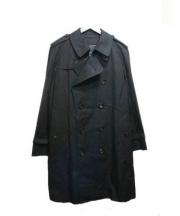 BURBERRY LONDON(バーバリー ロンドン)の古着「ライナー付ロングトレンチコート」|ブラック