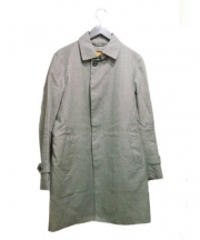 MACKINTOSH PHILOSPHY(マッキントッシュ フィロソフィー)の古着「ライナー付ステンカラーコート」|グレー