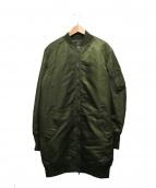 AMERICAN RAG CIE(アメリカンラグシー)の古着「ロングMA-1ジャケット」|オリーブ