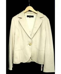 7-ID concept(セブンアイディ コンセプト)の古着「スカートスーツ」|ベージュ