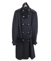 BURBERRY(バーバリー)の古着「ウールカシミヤコート」|ブラック