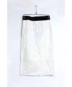 MILLY(ミリー)の古着「タイトスカート」 ホワイト