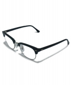 RAY-BAN(レイバン)の古着「ハーフリム伊達眼鏡」|ブラック