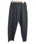 COMME des GARCONS SHIRT(コムデギャルソン・シャツ)の古着「ポケット切替ワイドパンツ」|ブラック