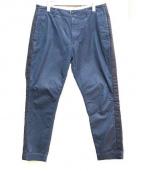 sanca(サンカ)の古着「サイドラインパンツ」|ネイビー