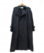 The FRANKLIN TAILORED(フランクリンテーラード)の古着「ナイロントレンチコート」 ブラック