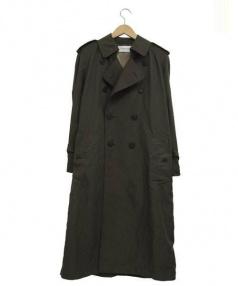 The FRANKLIN TAILORED(フランクリンテイラード)の古着「ナイロントレンチコート」|オリーブ
