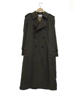 The FRANKLIN TAILORED(フランクリンテイラード)の古着「ナイロントレンチコート」 オリーブ