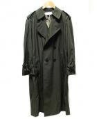 The FRANKLIN TAILORED(ザ・フランクリンティラード)の古着「ナイロントレンチコート」 オリーブ