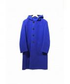 The FRANKLIN TAILORED(フランクリンテーラード)の古着「カシミヤ混ダッフルコート」|ブルー