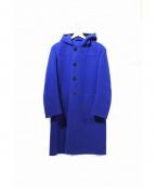 The FRANKLIN TAILORED(フランクリンテーラード)の古着「カシミヤ混ダッフルコート」 ブルー