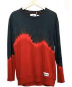 devadurga(デヴァドゥルガ)の古着「タイダイスウェット」|ブラック