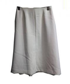 FONCE(フォンセ)の古着「バックフレアスカート」|ホワイト