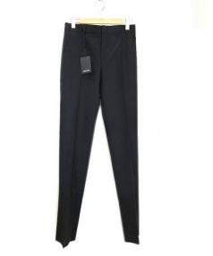 YVES SAINT LAURENT(イヴサンローラン)の古着「スラックス パンツ」 ブラック