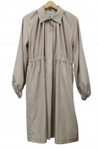 VONDEL(フォンデル)の古着「ギャザーベルテッドコート」