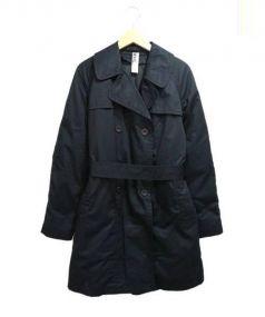 MHL(エムエイチエル)の古着「ダウンライナー付トレンチコート」 ブラック