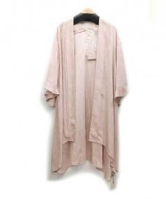 Snidel(スナイデル)の古着「ジャガードフラワーガウン」|ピンク