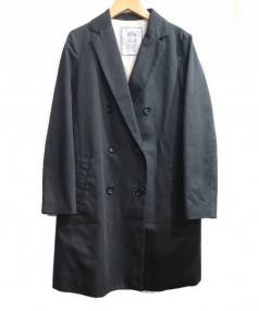 SLOBE IENA(スローブ イエナ)の古着「ダブルチェスターコート」 ブラック