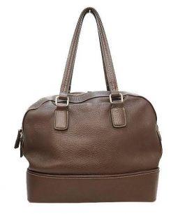 土屋鞄(ツチヤカバン)の古着「レザーボストンバッグ」|ブラウン