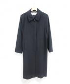 BALMAIN(バルマン)の古着「カシミアコート」 ブラック
