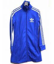 adidas originals(アディダスオリジナル)の古着「ヨーロピアンジャージワンピース」 ブルー